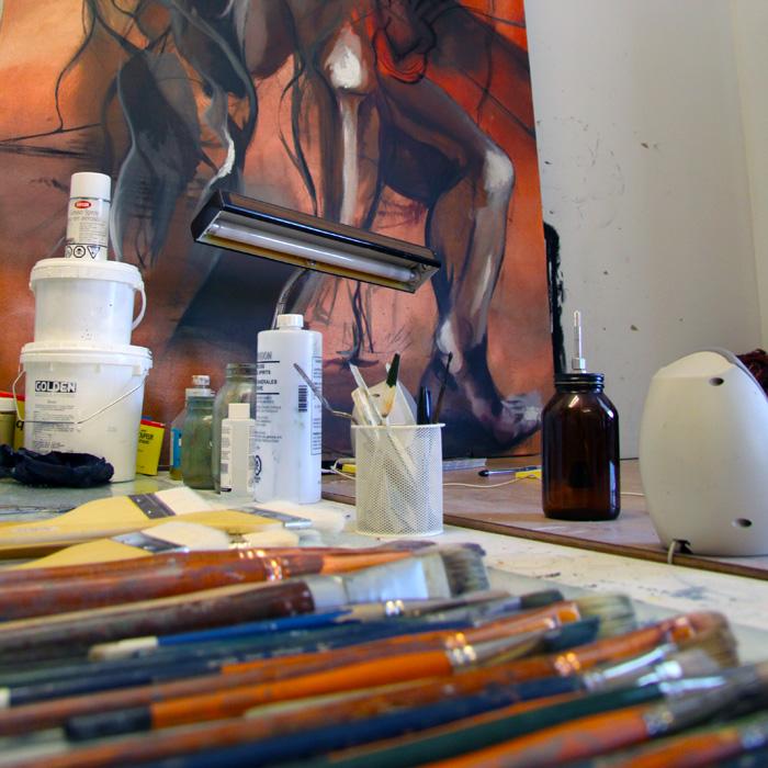 Studios de peinture