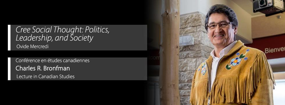 Cree Social Thought: Politics, Leadership, and Society - Ovide Mercredi