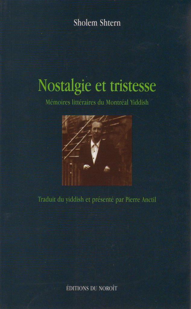 Nostalgie et Tristesse