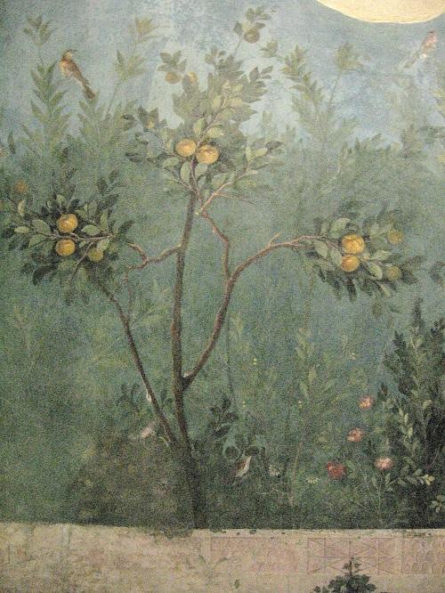 fresque de jardin