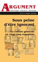 Politique, Société et Histoire