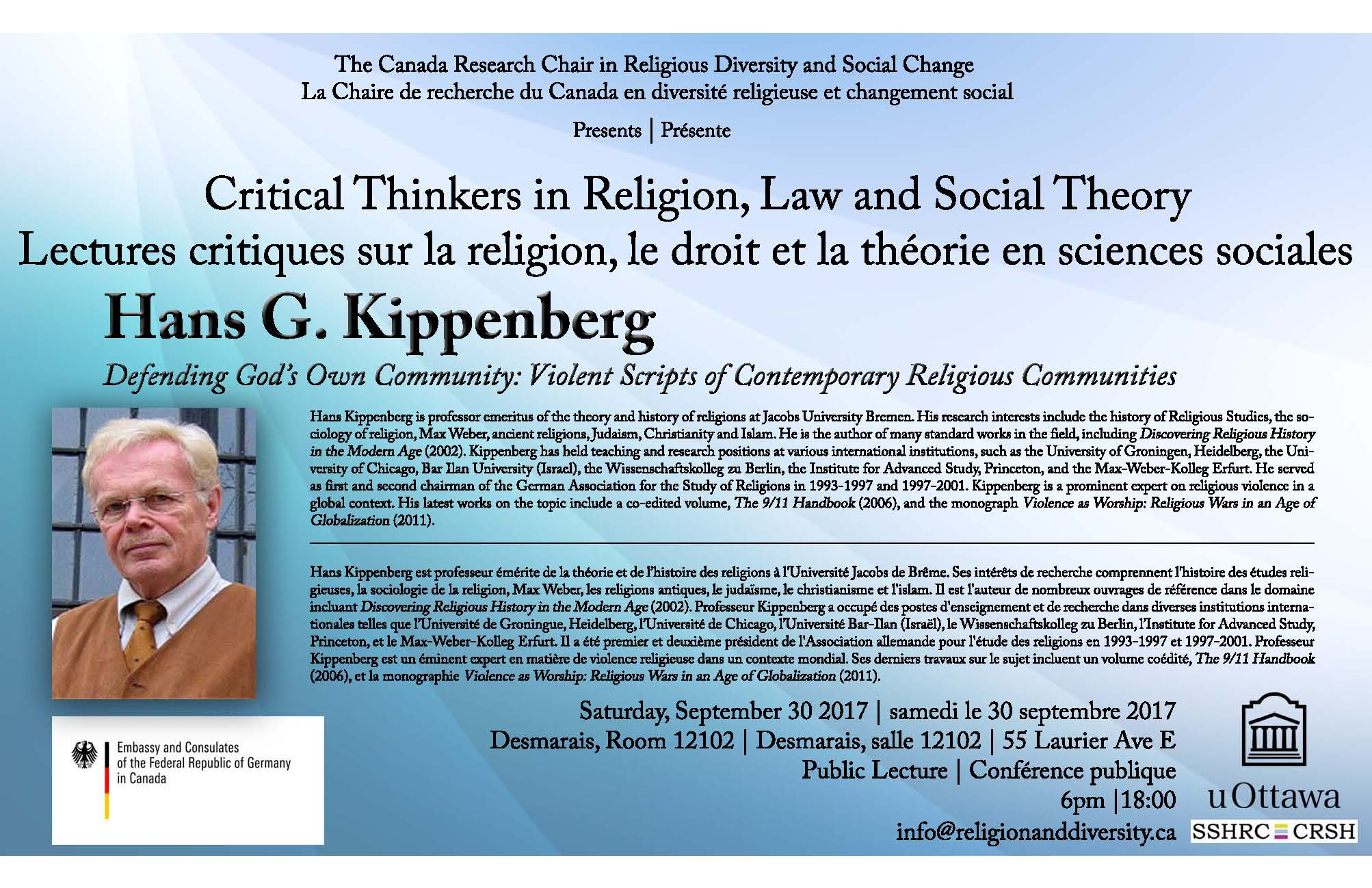 globalization and religion For more on this event, visit:   for more on the berkley center, visit:   jürgen habermas and charles taylor, winners.