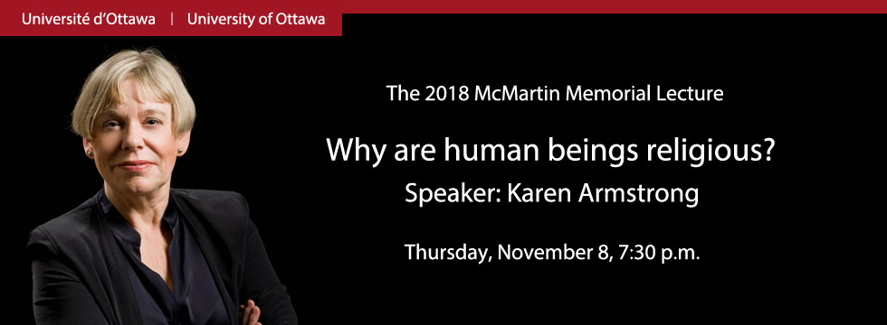 Karen Armstrong - Lecture