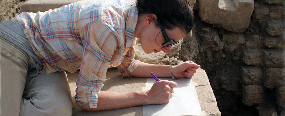 Graduate Student Working - Egypt