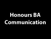 Honours BA in Communication