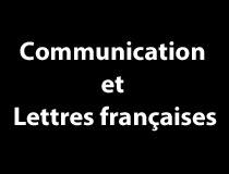 Programme de communication et lettres françaises