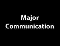 Communication Major