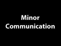 Communication Minor