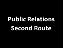 Public Relations - Second Route