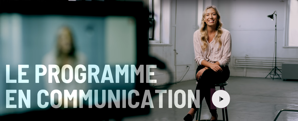 Le programme de communication