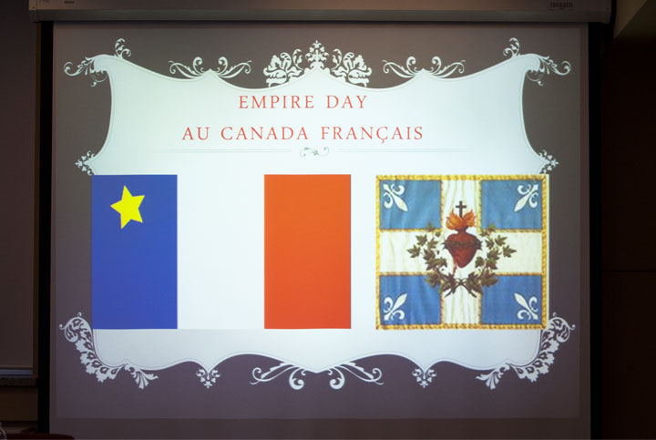 Photographie Empire Day au Canada Français.