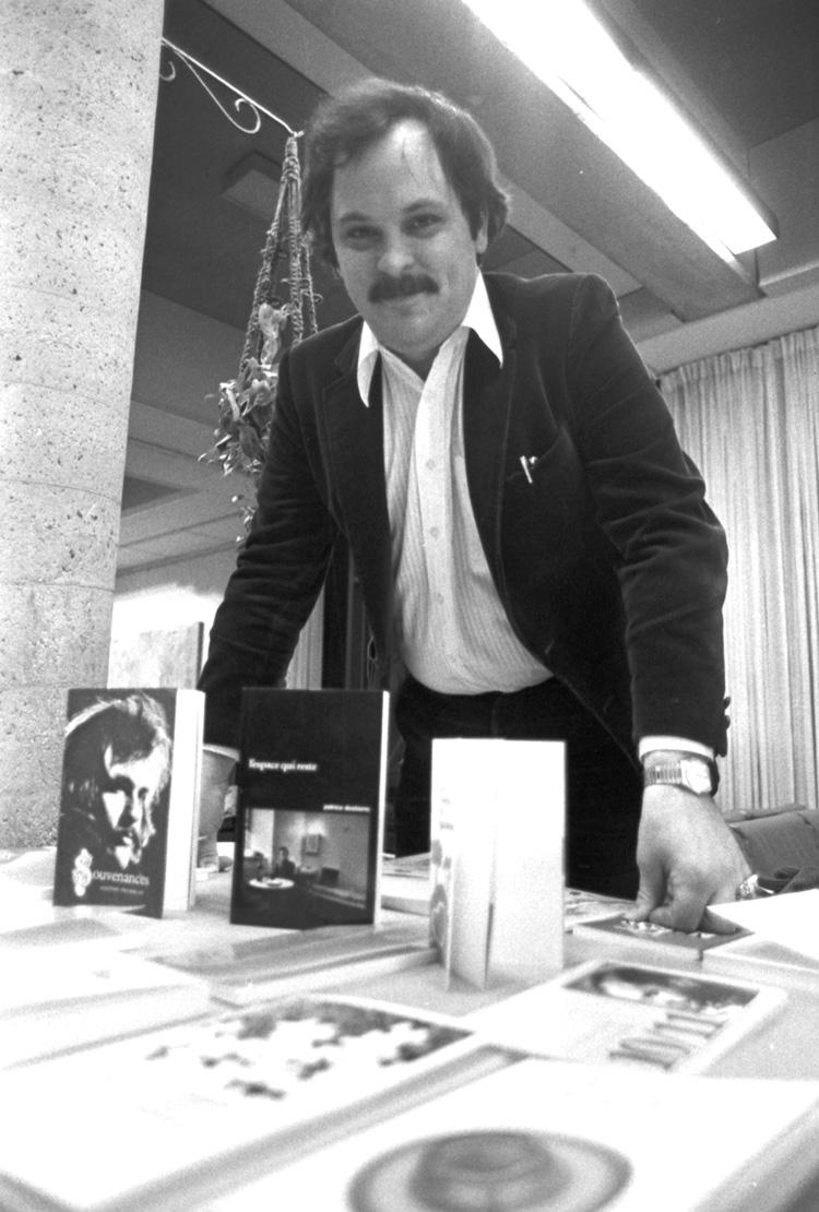 « Gaston Tremblay, fondateur de la maison d'édition Prise de parole, 5 février 1980 ».