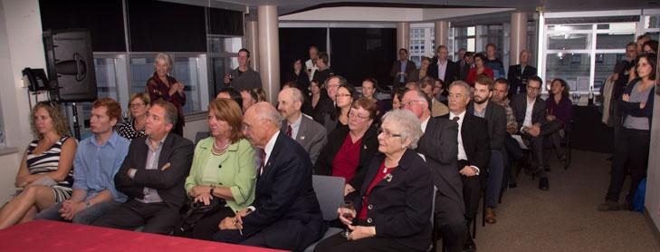 Photographie du lancement des activités 2014-2015 du CRCCF
