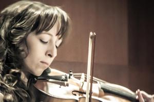 Alyssa playing violin