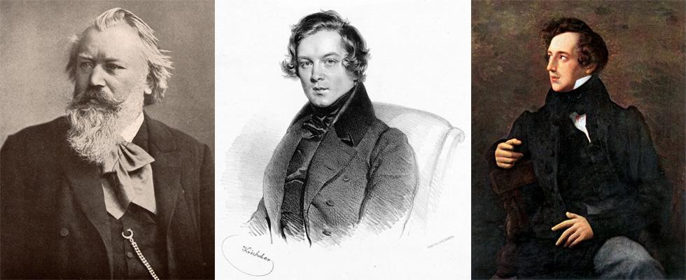 Images de Brahms, Schumann, and Mendelssohn