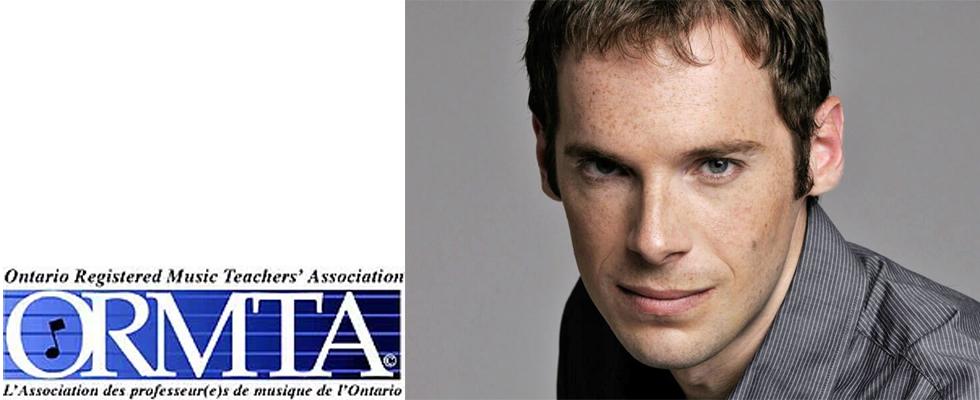 Photo de David Jalbert et le logo de ORMTA