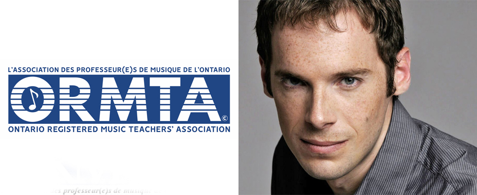 Photo de David Jalbert et le logo de ORMTA