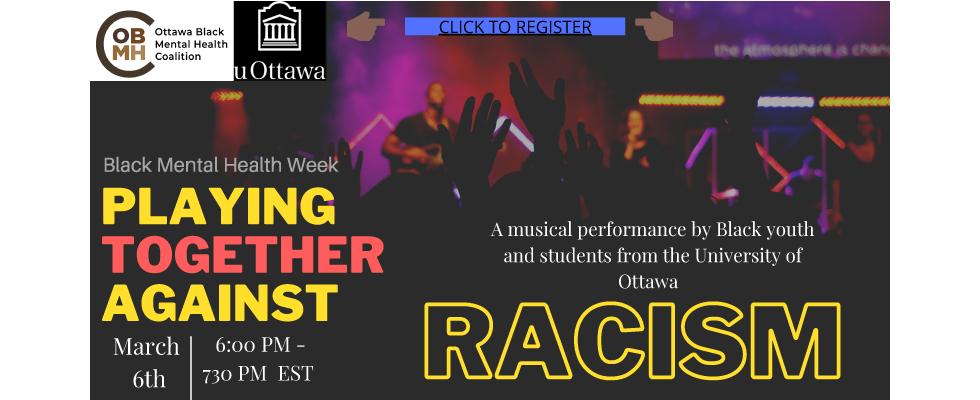 Affiche pour l'evenement Jouer ensemble contre le racisme
