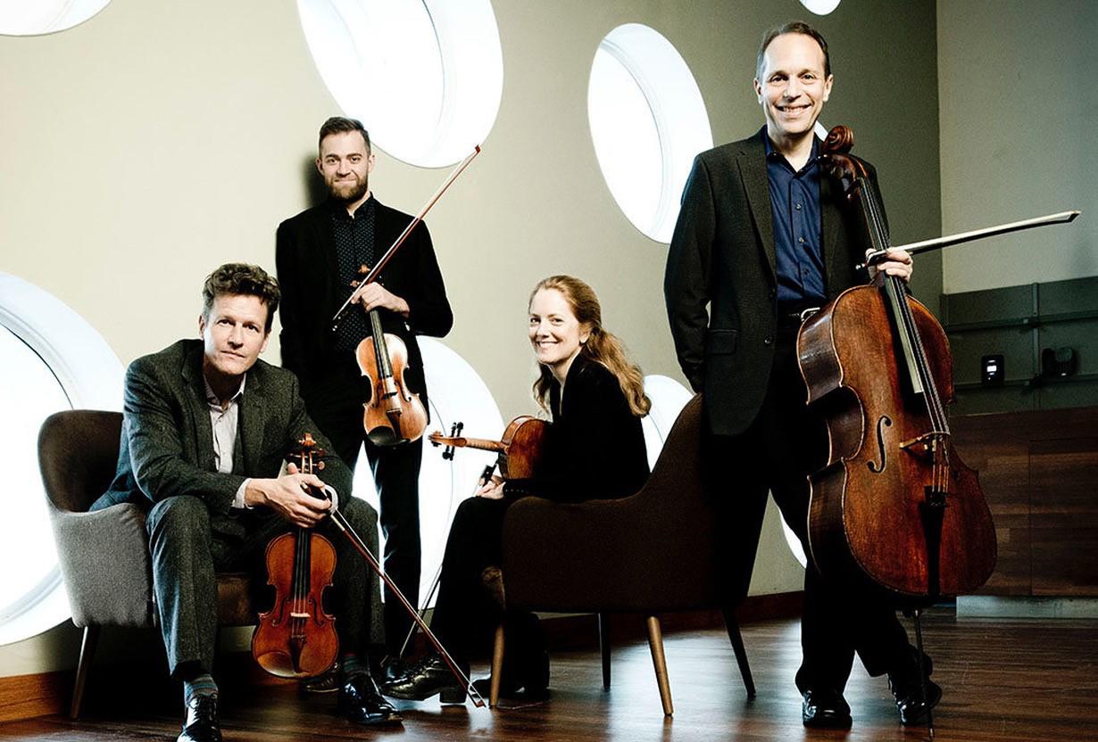 Photo du Quatuor à cordes St-Lawrence