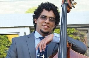 Vicente plays bass