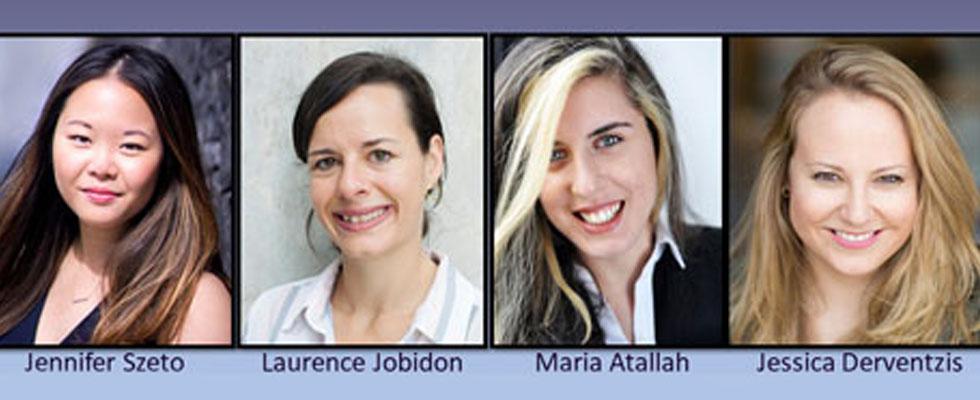 Photos de Jennifer Szeto, Laurence Jobidon, Maria Atallah et Jessica Derventzis