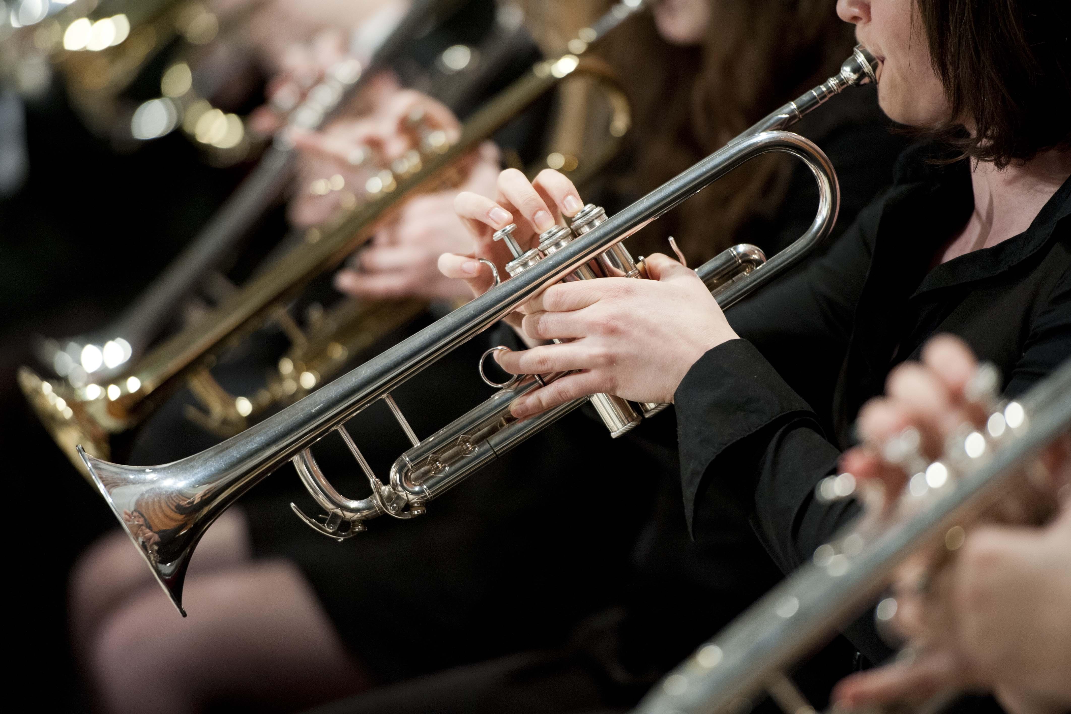 Photo de l'Harmonie - trompettes