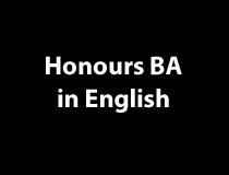 English Honours BA