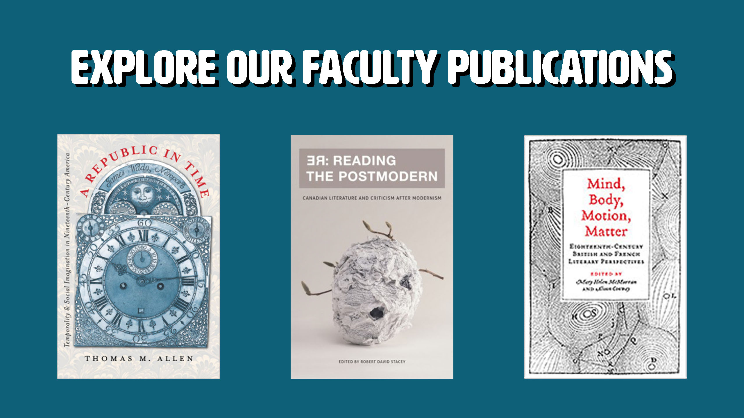 Click to explore our faculty publications