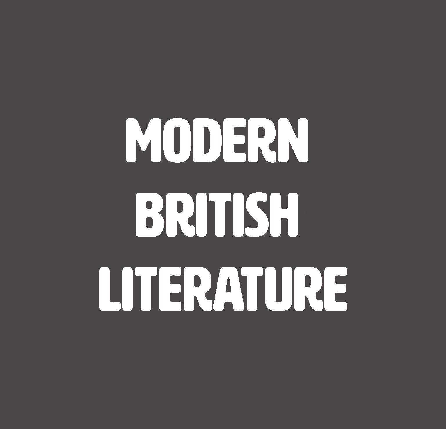 Modern British Literature