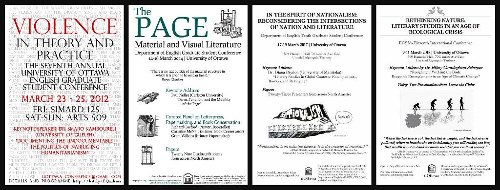 Past EGSA Conferences