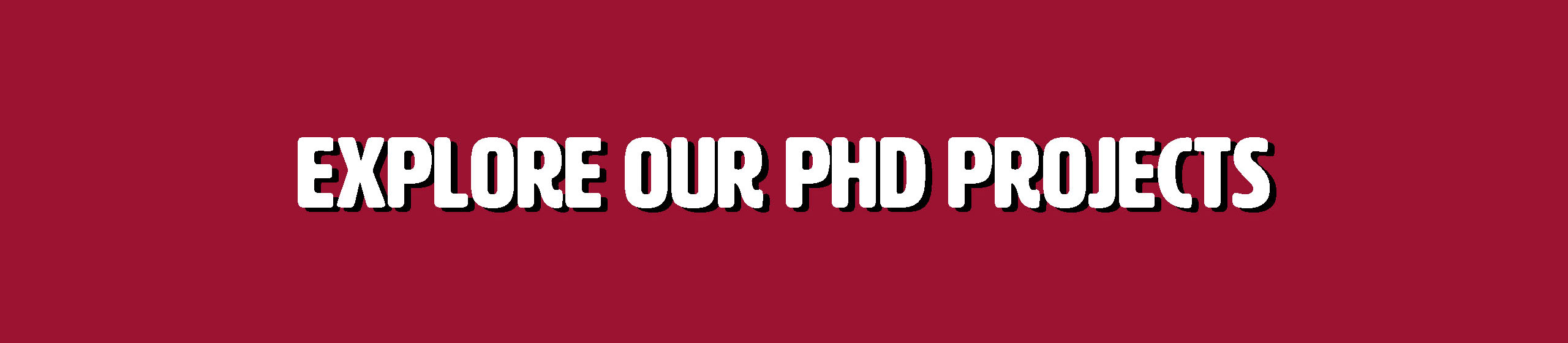 Click to explore our PhD projects