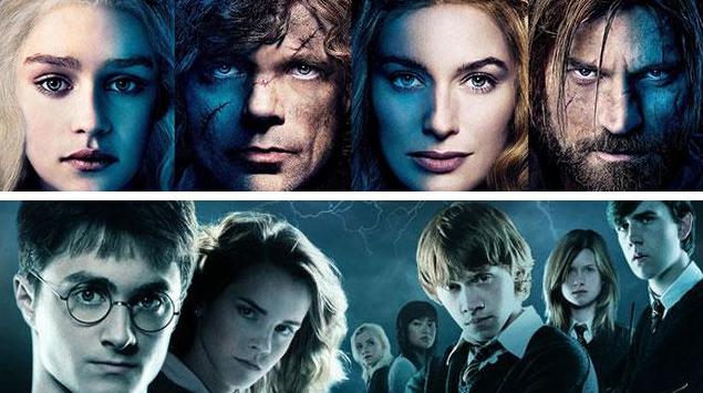 Game of Thrones vs Harry Potter Header