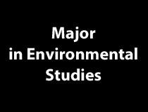 Major in Environmental Studies