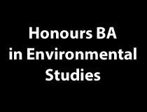 Honours BA in Environmental Studies