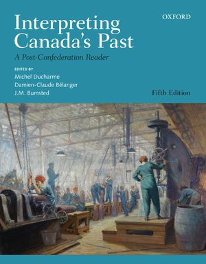 Interpreting Canada's Past cover