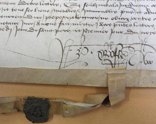 L'année 1437 dans la pratique de Pierre Christofle, notaire du Châtelet d'Orléans