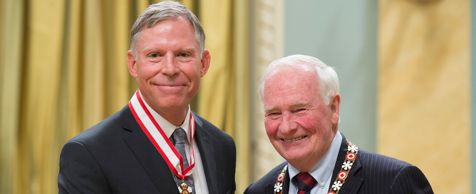 Chad Gaffield was named Officer of the Order of Canada