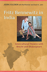 Book cover of Fritz Bennewitz in India