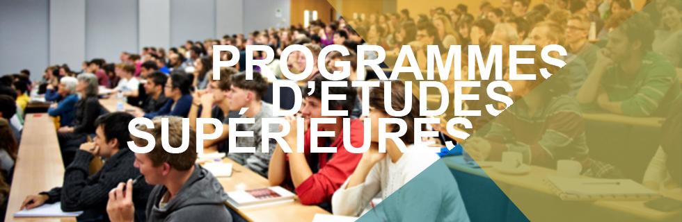 Graduate Programs FR