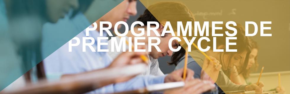 Undergraduate Programs FR