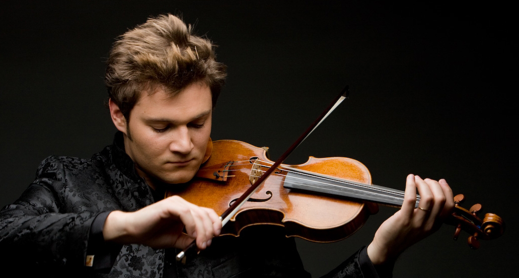Alexandre Da Costa photo with violin