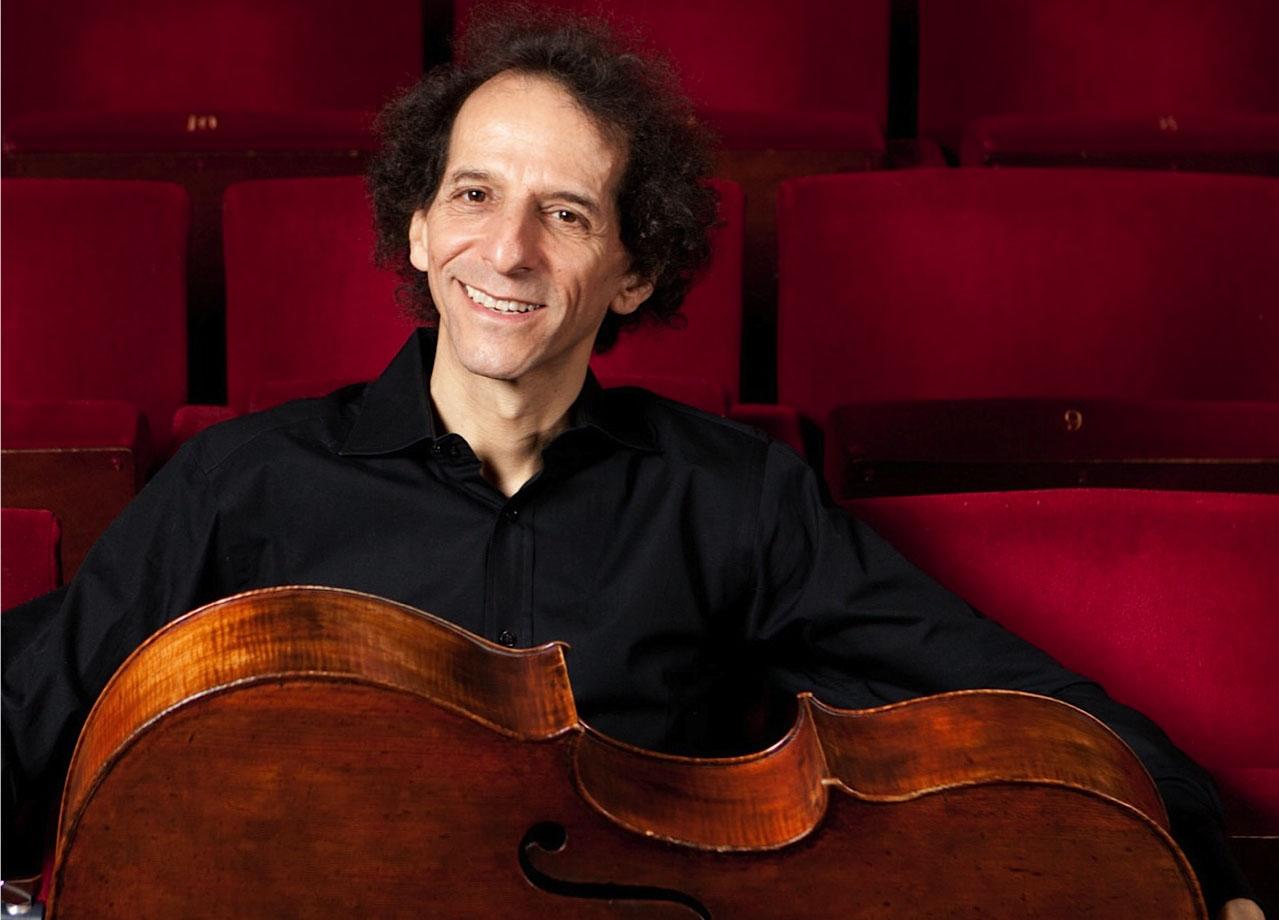Colin Carr photo with cello