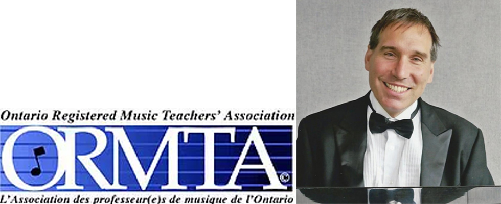 Photo of Frédéric Lacroix and the ORMTA logo
