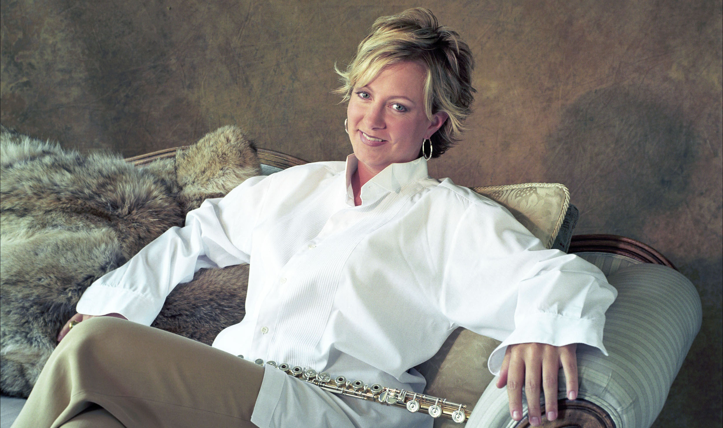 Susan Hoeppner photo with flute