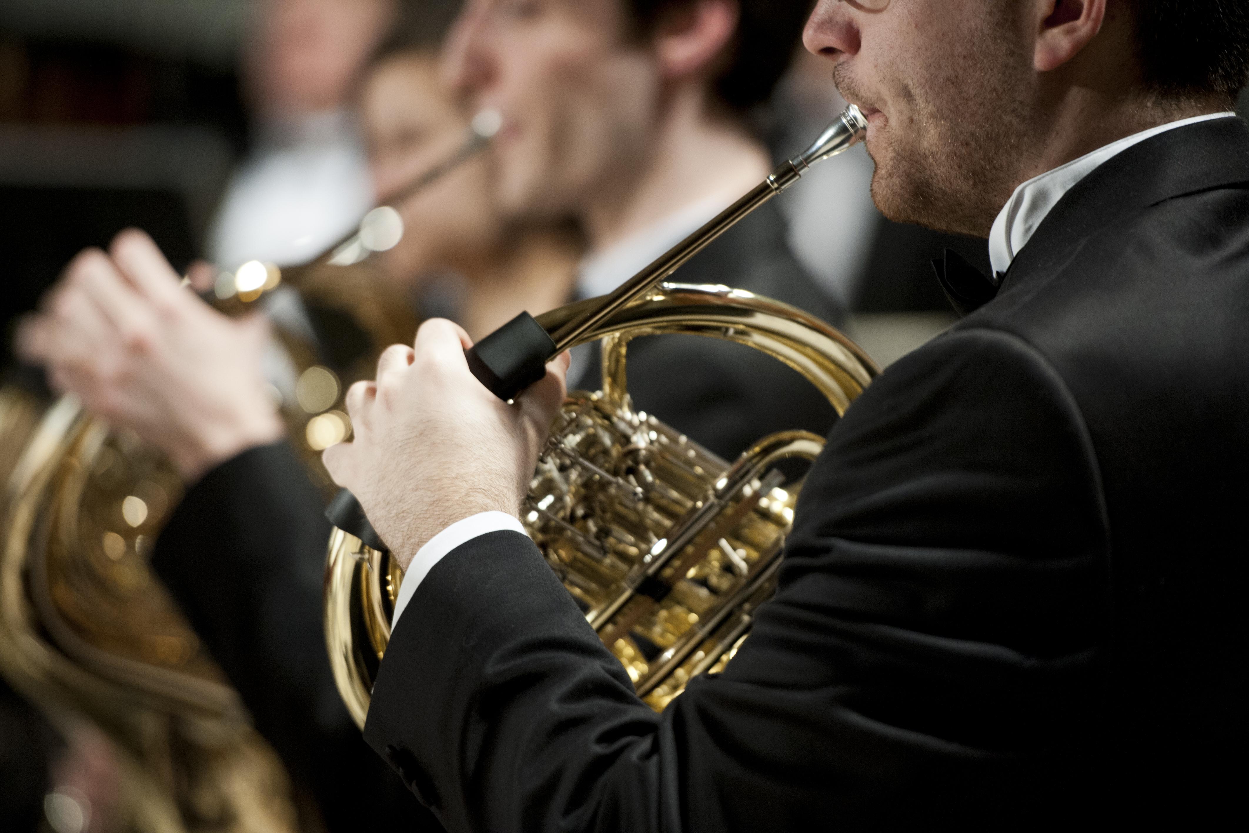 Wind Ensemble photo, horns