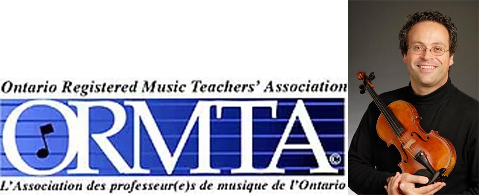 Photo of Yehonatan Berick and the ORMTA logo