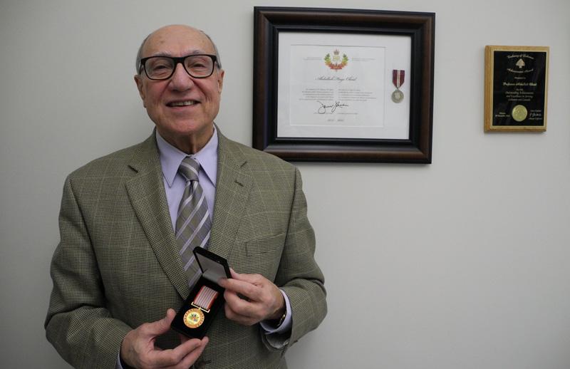 Abdallah Obeid receives Canada 150 Award