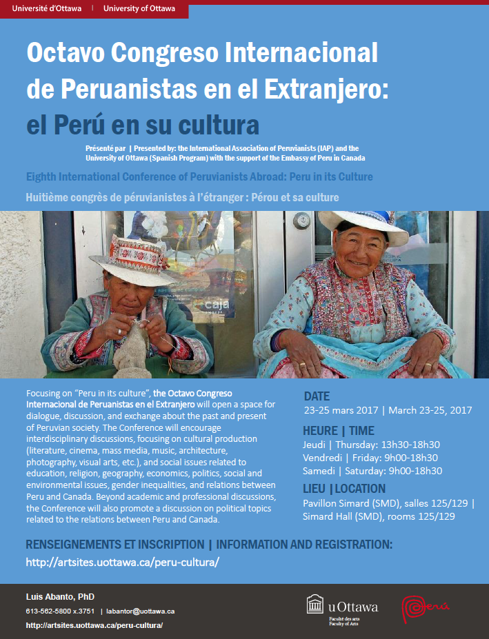 Peru in its Culture / Le Pérou et sa culture