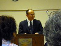 Zhai Jianjun, First Secretary  of the Chinese Embassy
