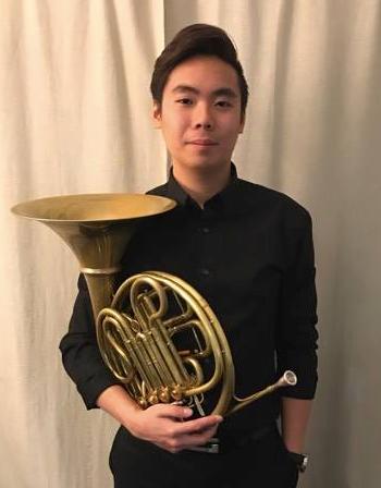 Alson Tsoi photo with horn
